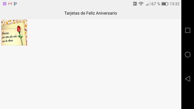 Tarjetas de Feliz Aniversario apk screenshot