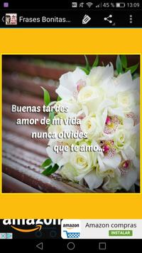 Frases Bonitas Buenas Tardes apk screenshot
