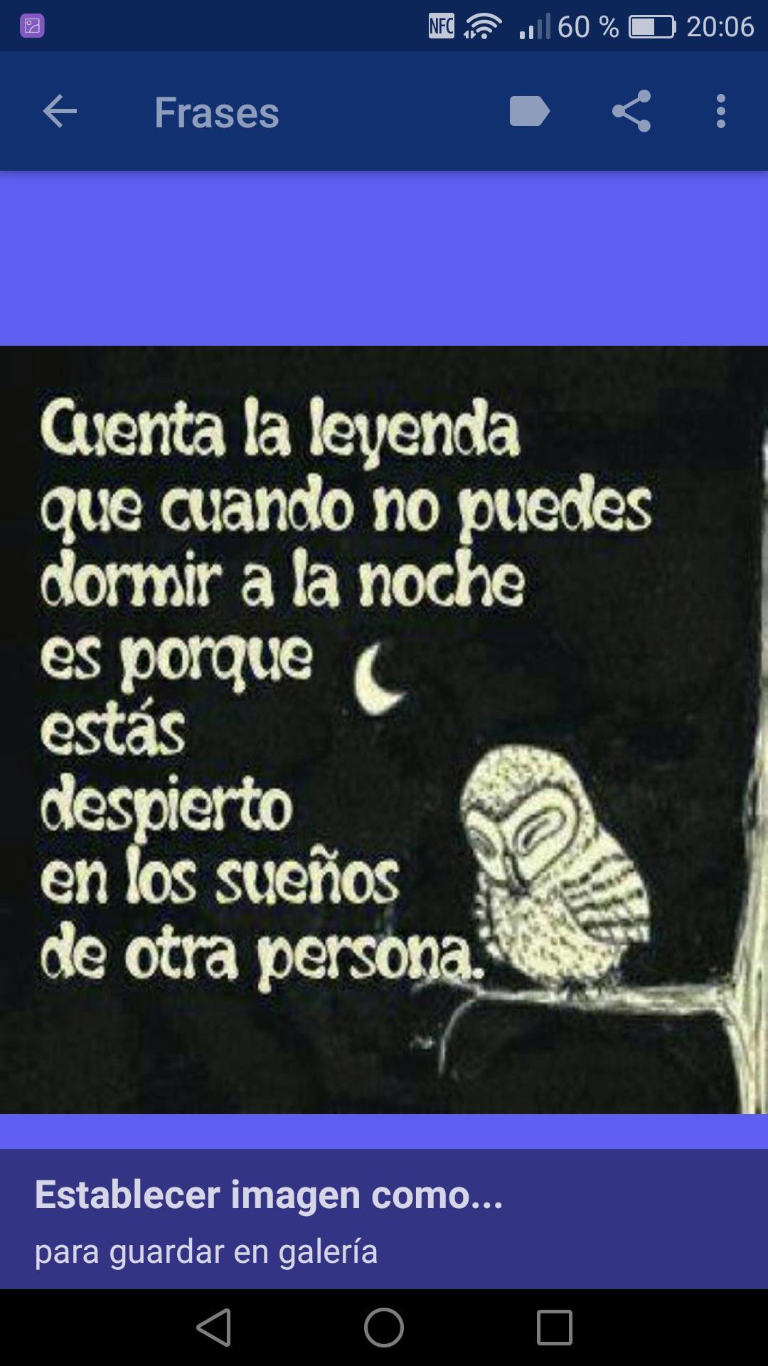 Frases Bonitas Para Dormir For Android Apk Download