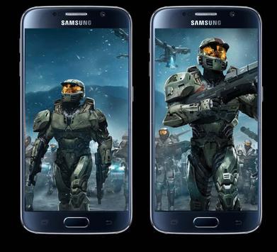 New Halo Wallpapers HD 2018 screenshot 2