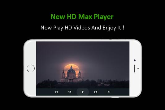 New HD Max Player apk screenshot