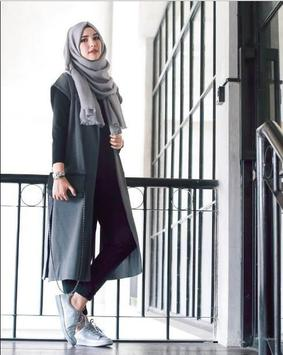 New Hijab Style For Fashion poster