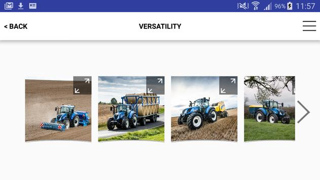New Holland Agriculture T5 EC apk screenshot