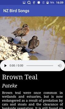 NZ Bird Calls screenshot 1