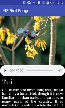 NZ Bird Calls screenshot 2