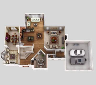 New 3D Home Floor Plan Ideas apk screenshot