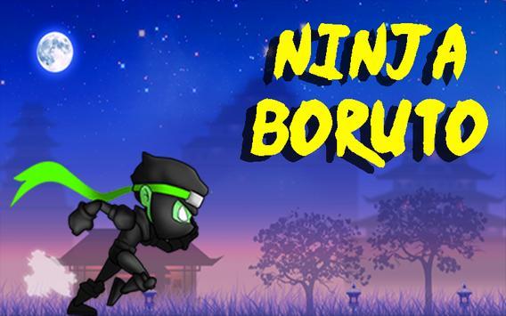 Ninja Boruto Run poster