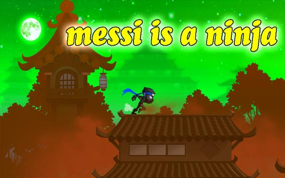 Ninja Messi Football screenshot 3