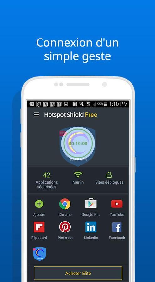 hotspot shield elite android
