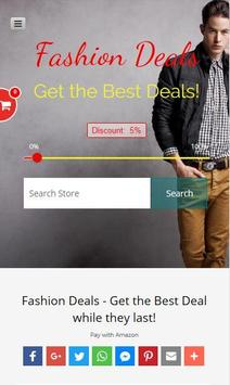 Fashion Deals from Amazon apk screenshot