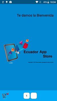 Ecuador App Store poster