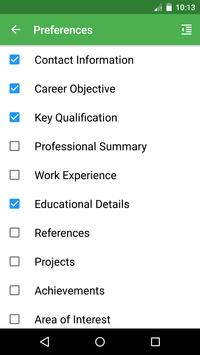 resume pdf file builder apk download free business app for android