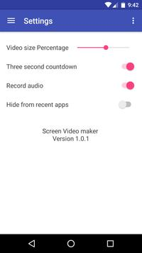 Screen Video Maker apk screenshot