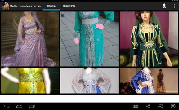 Moroccan caftan  models apk screenshot