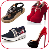 Women's shoes fashion trends icon