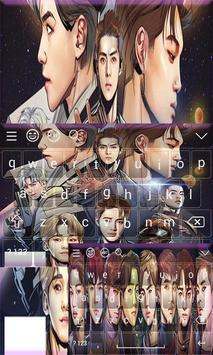 Cute Exo Keyboard Theme poster