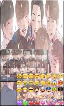 Cute Exo Keyboard Theme apk screenshot