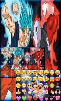 Goku Limit Breaker Keyboard Theme apk screenshot