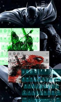 Superhero Keyboard Theme apk screenshot