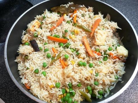 Pulao Recipes in Urdu poster