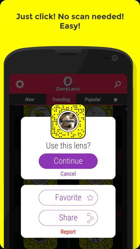 snapchat how to get custom lenses
