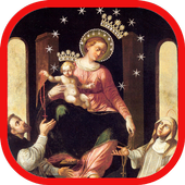 Our Lady of Pompeii - Rosary icon