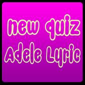 New Quiz Adele Lyric icon