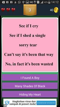 New Quiz Adele Lyric apk screenshot