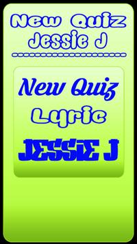 New Quiz Jessie J lyric poster