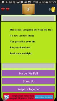 New Quiz Jessie J lyric apk screenshot
