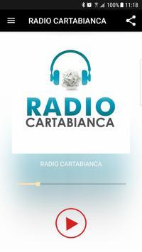 RADIO CARTABIANCA poster