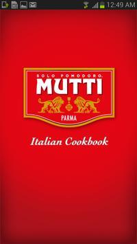 Mutti Italian Cookbook poster