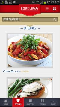 Mutti Italian Cookbook screenshot 2