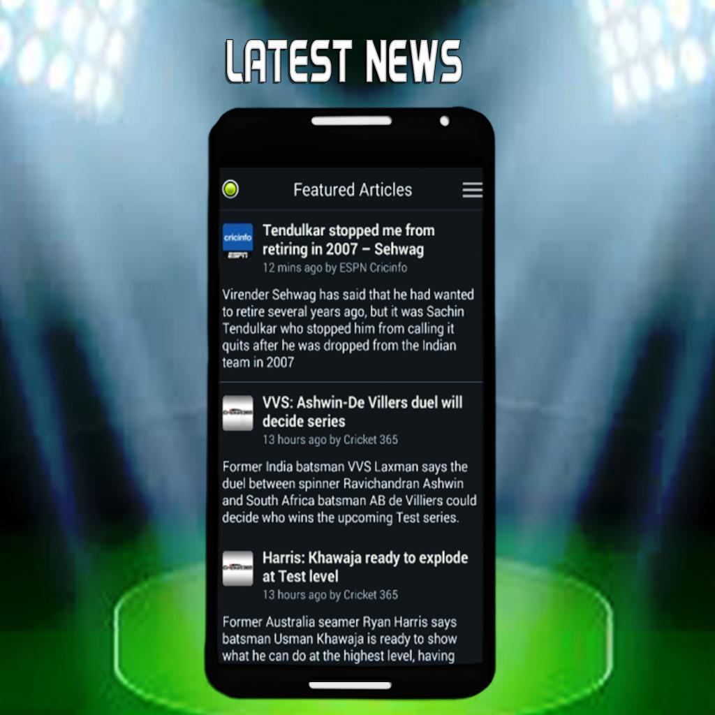 Live Cricket Tv News And Score For Android Apk Download