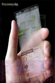 Tema Terbaru Dual Transparan apk screenshot