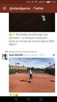 News Roland Garros 2017 screenshot 3