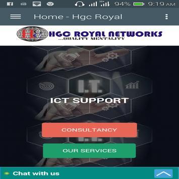 Hgc-Royalnetworks poster