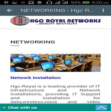 Hgc-Royalnetworks screenshot 3