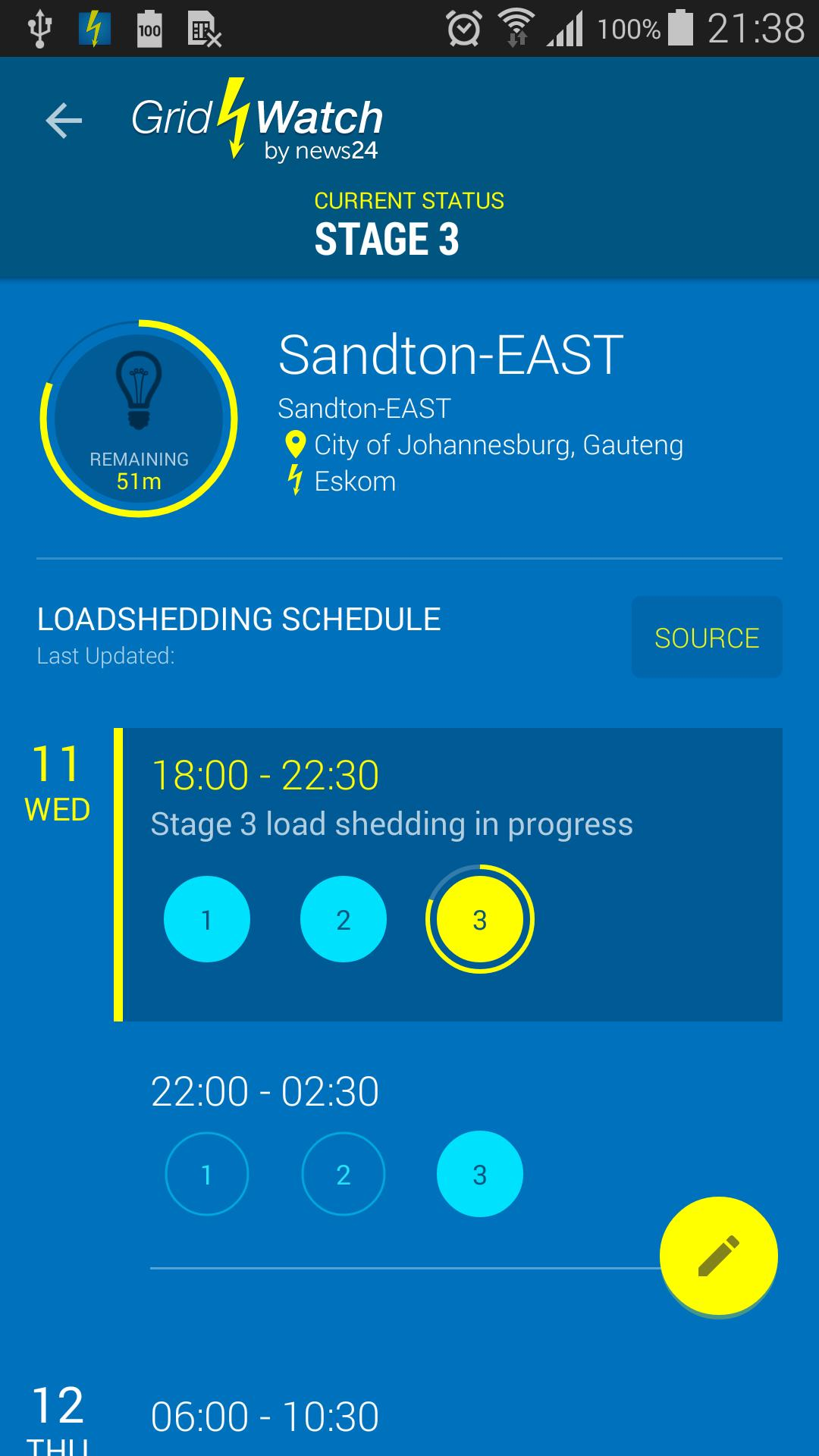 GridWatch - Load Shedding for Android - APK Download