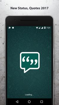 2017 Best Status & Quotes for Whatsapp (NEW) poster