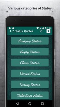 2017 Best Status & Quotes for Whatsapp (NEW) apk screenshot