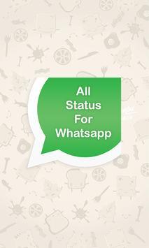 New Status for Whatsapp poster