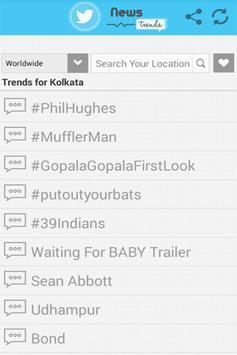 News Trends apk screenshot