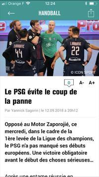 Sports.fr screenshot 1