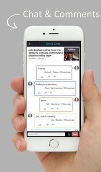 World Headline News & Chat screenshot 4