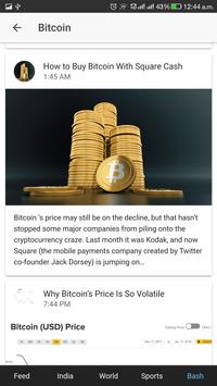 NewsBot screenshot 2
