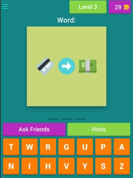 EmOrd - Guess the Emoji Word apk screenshot