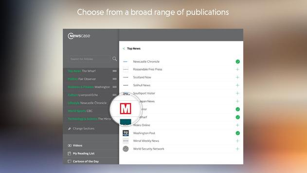 newscase: the world in one app apk screenshot