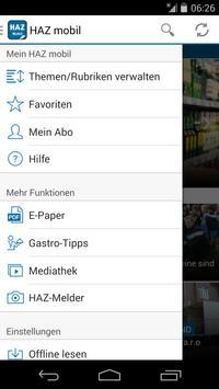 HAZ mobil apk screenshot