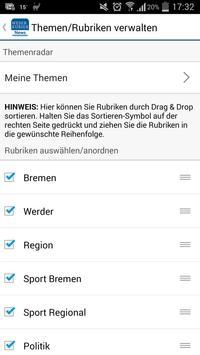 WESER-KURIER News apk screenshot